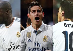 Grandes cracks del fútbol han usado la camiseta número 10 del Real Madrid, siendo James el último en vestirla antes de tocarle el turno a Modric.