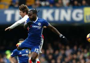 Victor Moses - RWB - Chelsea: 77 → 78