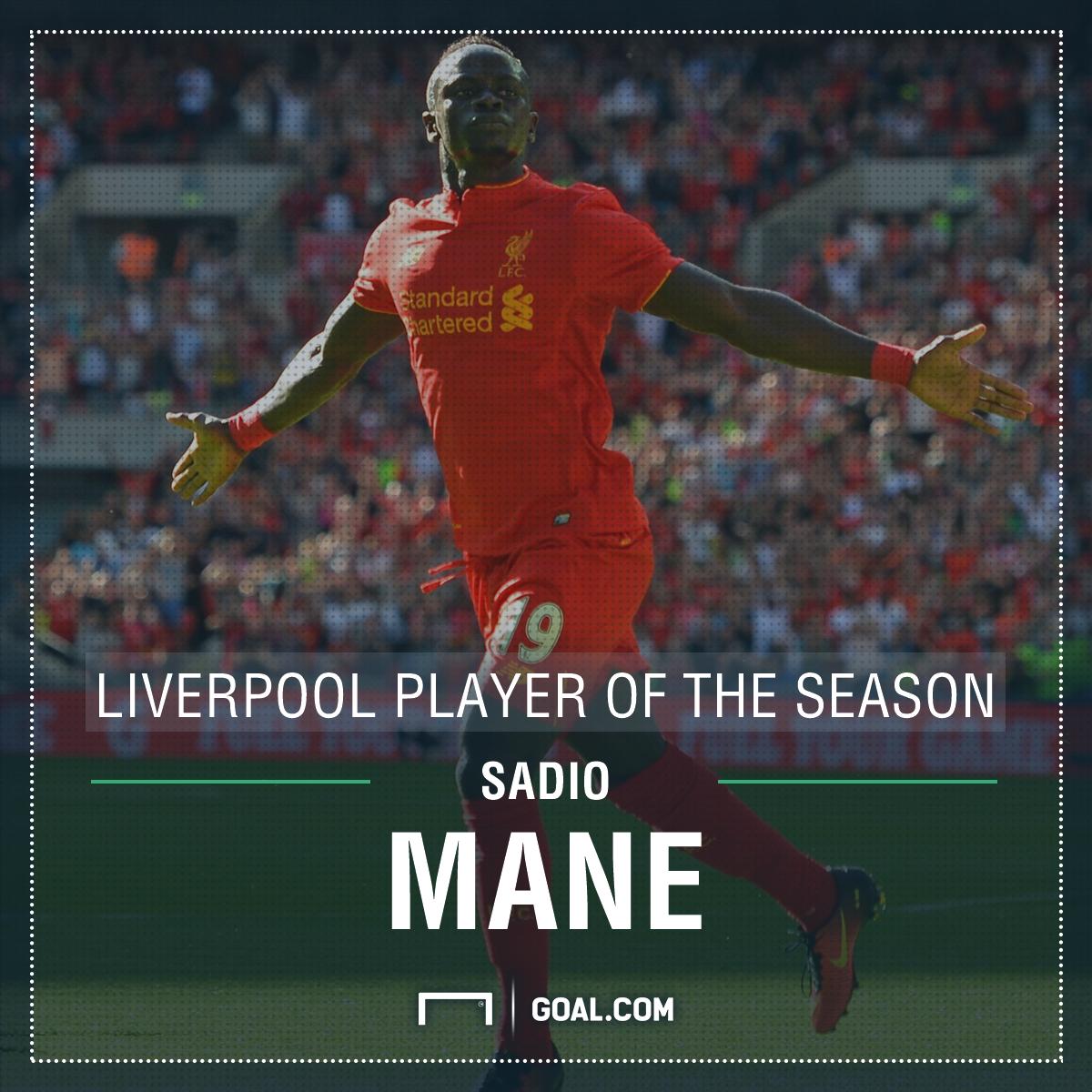 GFX Sadio Mane Liverpool Player of the Season