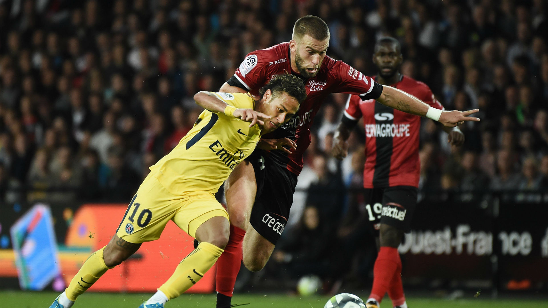 Neymar scores on debut as PSG triumph at Guingamp