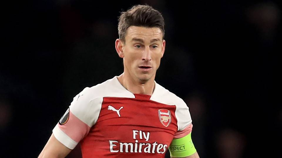 Laurent Koscielny Arsenal 2018