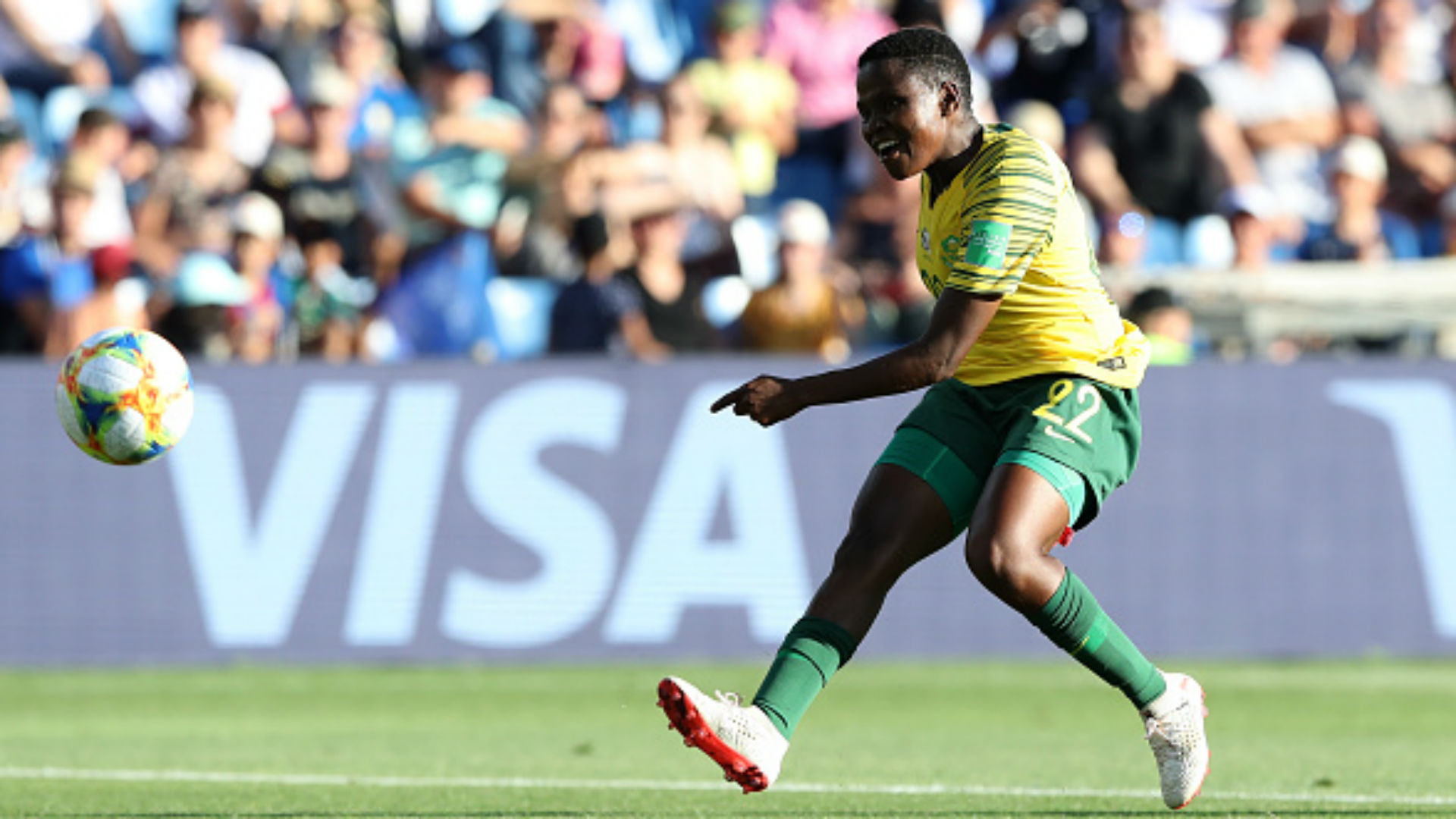 Banyana Banyana striker Mulaudzi thought Uefa Champions League dream was a scam