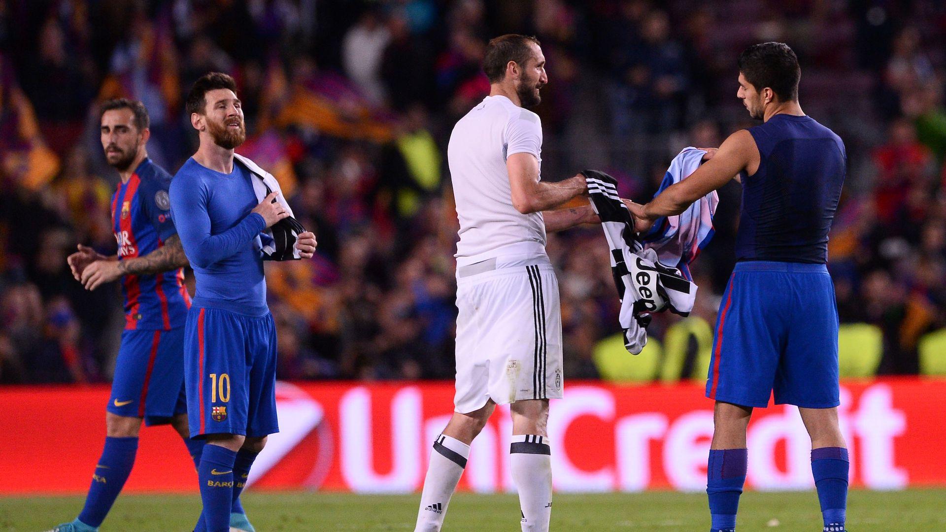 Increíble: lo que pasó entre Messi y los jugadores de Juventus
