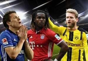 Die Bundesliga-Vereine gaben auch in dieser Spielzeit wieder viel Geld für neue Spieler aus. Goal zeigt Euch die Transfer-Flops der Saison 2016/17.