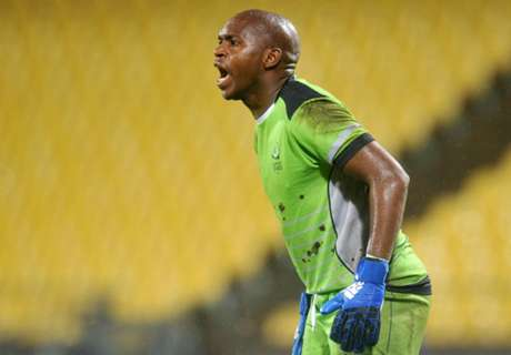 Goalkeeper Mzimela nets double!
