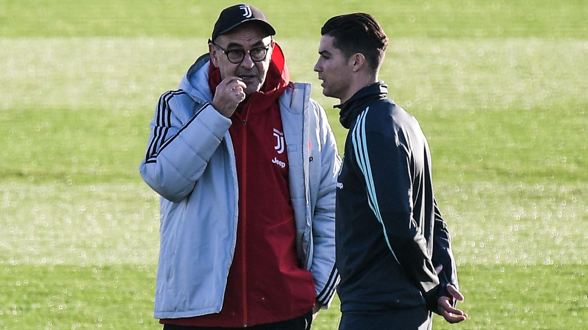 Juventus, Sarri a colloquio con Cristiano Ronaldo prima dell ...