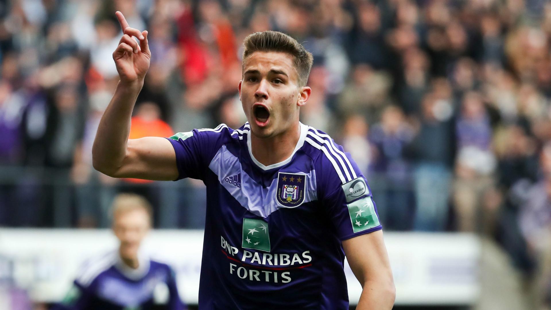 Leander Dendoncker Anderlecht 2017