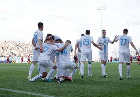 Rijeka wird Meister in Kroatien