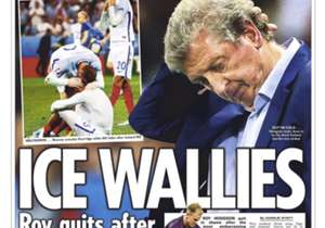 <strong>THE SUN | England | ICE WALLIES |</strong> Roy quits after pathetic failure