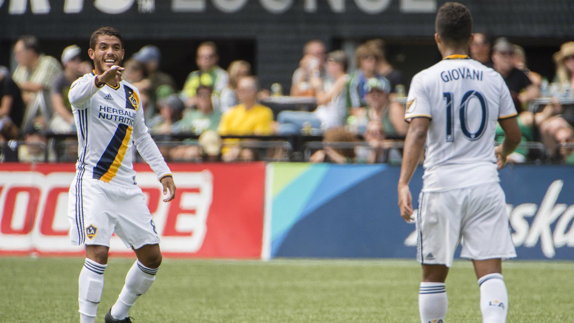 Jonathan dos Santos Giovani dos Santos LA Galaxy