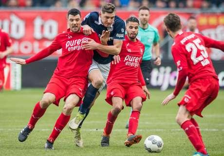 Twente vecht zich naar punt tegen Sparta