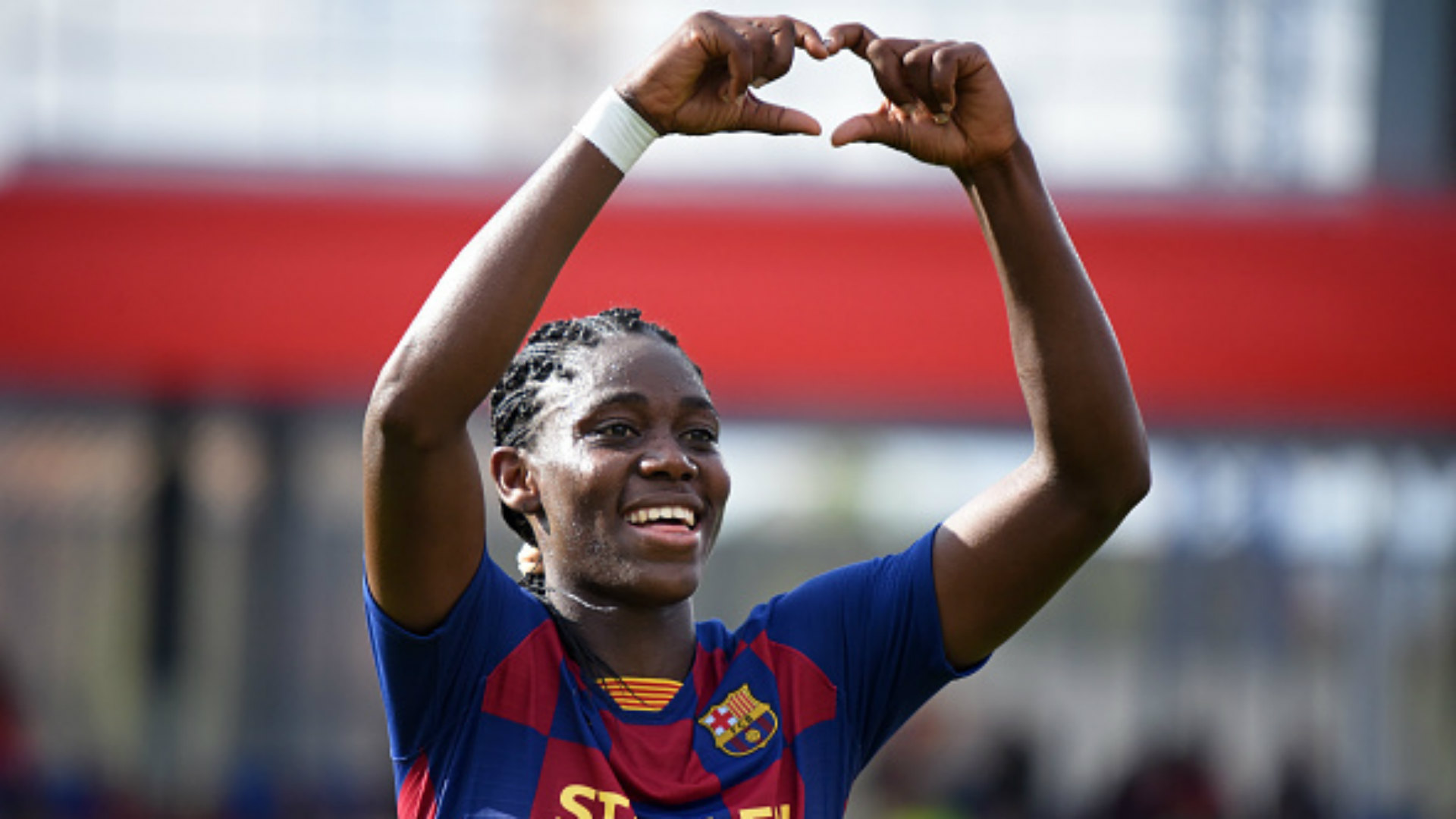 Barcelona star Oshoala rolls out plans to inspire Nigeria