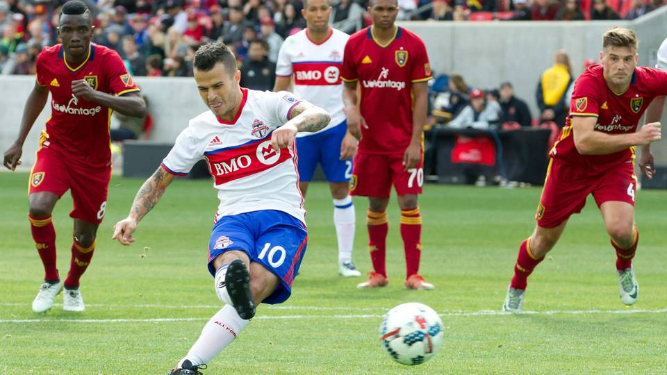 Sebastian Giovinco Toronto FC vs. Real Salt Lake