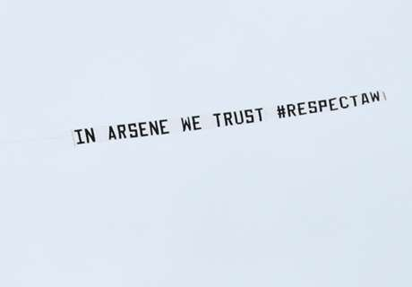 Pro-Wenger banner group want respect