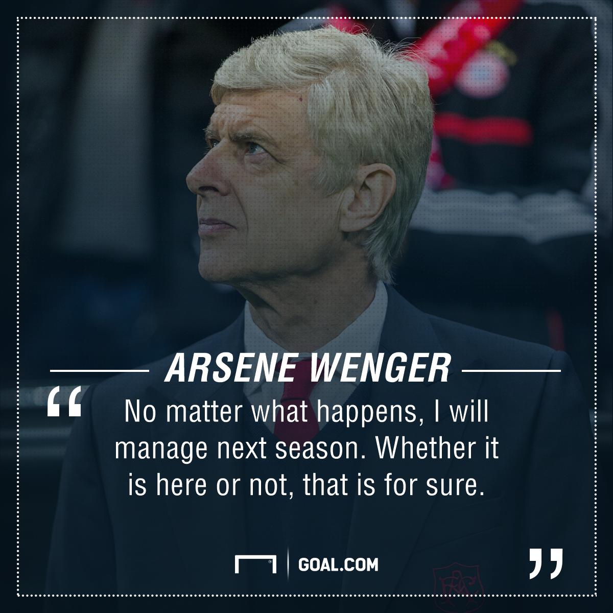 Arsene Wenger Arsenal PS