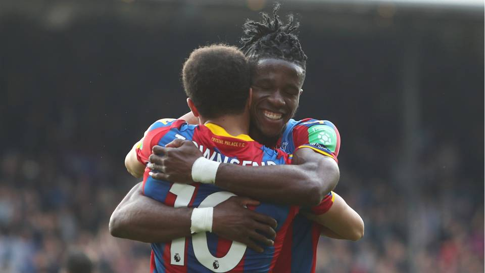 Andros Townsend, Wilfried Zaha
