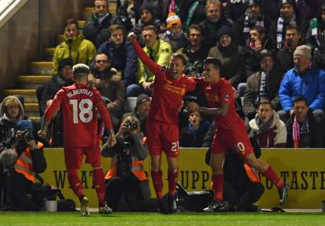 Origi flops for Reds after penalty miss