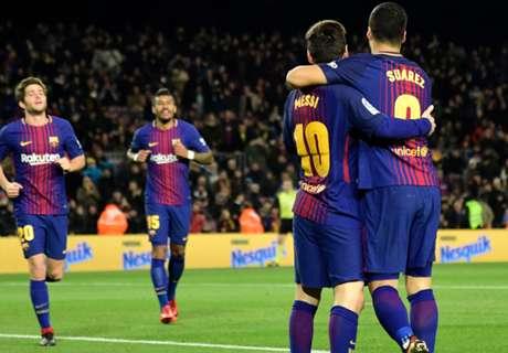 Laporan Pertandingan: Barcelona 4-0 Deportivo La Coruna