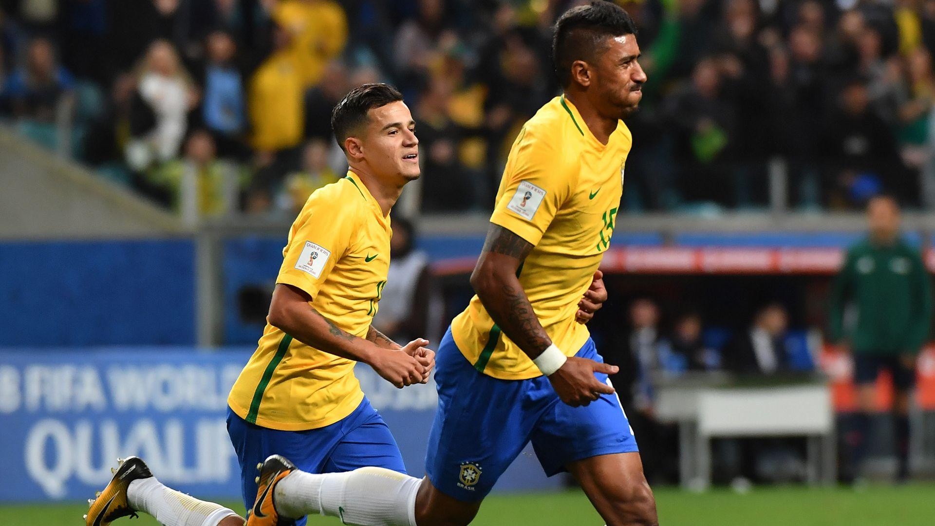 Coutinho Paulinho Brazil Ecuador Eliminatorias 2018 31082017