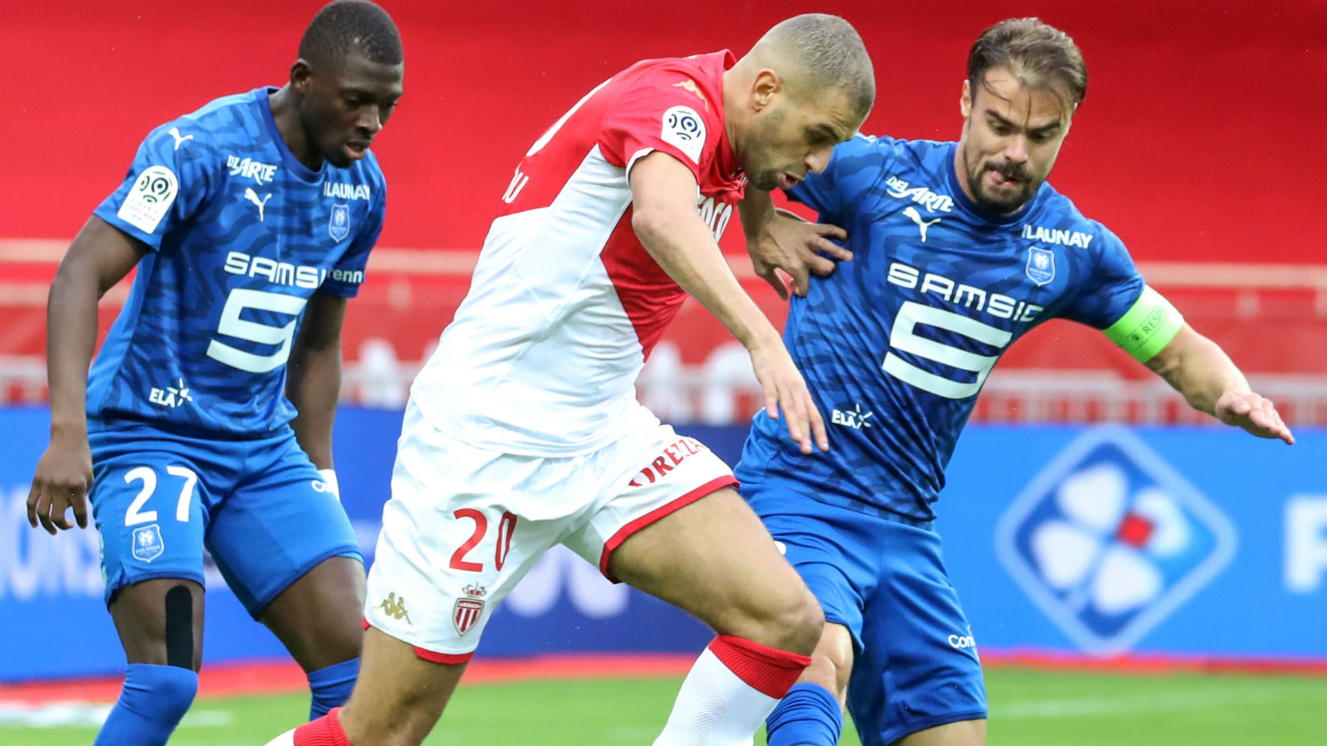 Monaco's Slimani to miss PSG and Toulouse games
