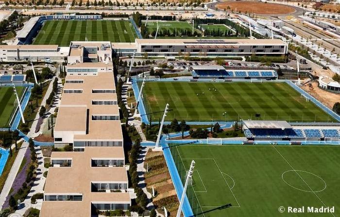 WTF - Un plan contre les drones au centre d'entraînement du Real Madrid