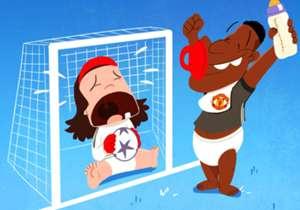Marcus Rashford menjadi penyelamat Manchester United di Liga Champions. Pemain berusia 19 tahun itu mencetak gol tunggal kemenangan Setan Merah atas Benfica, yang tidak lepas dari blunder kiper Mile Svilar yang masih berusia 18 tahun.