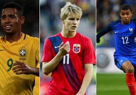 Seis cracks para el Mundial 2026