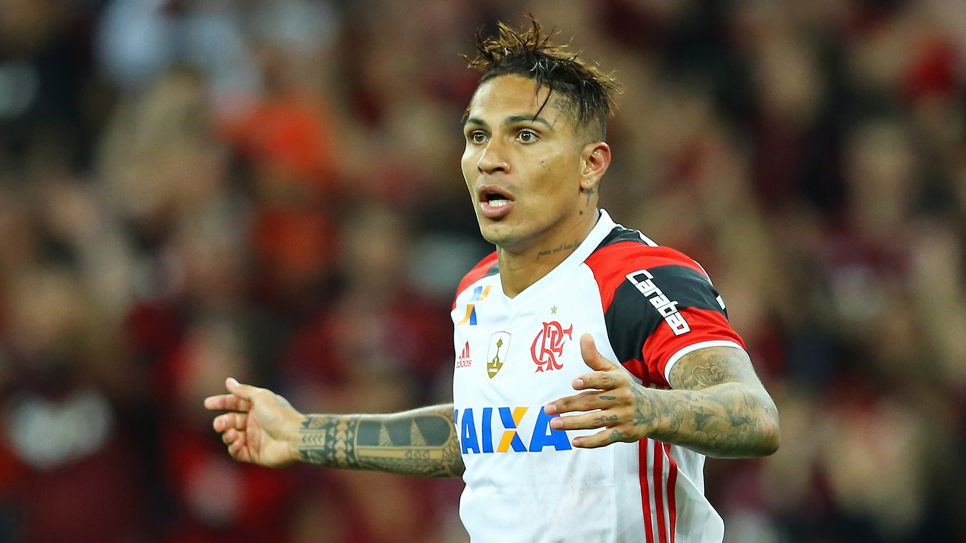 Guerrero Atletico-PR Flamengo Libertadores 26042017