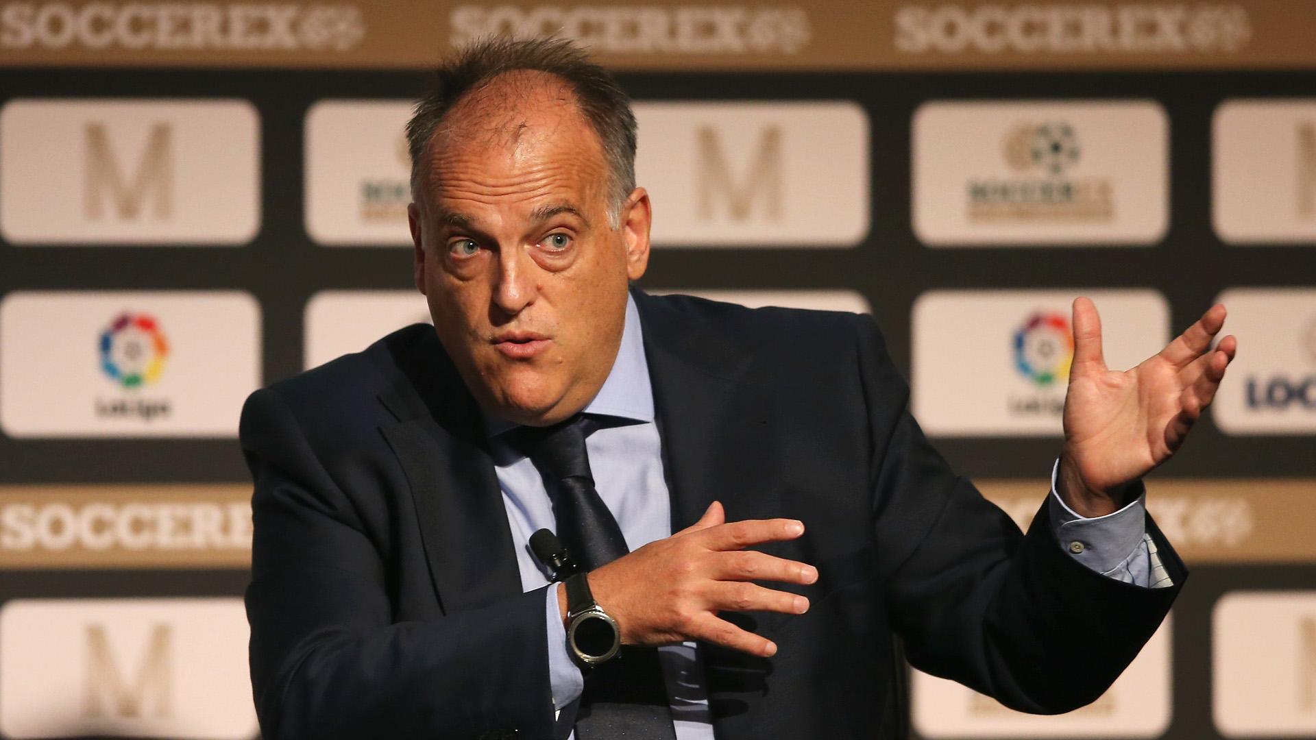 "Tebas s'en prend encore à Neymar : ""Il prendra sa retraite au PSG"""