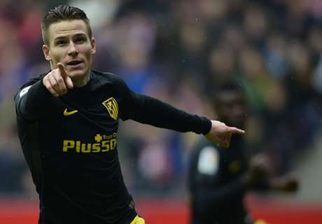 Gameiro hat-trick seals Atleti win