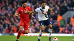 Emre Can Liverpool Moussa Dembele Tottenham Premier League