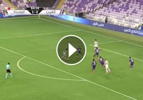 ► Quinto gol de Valdivia en la 16/17