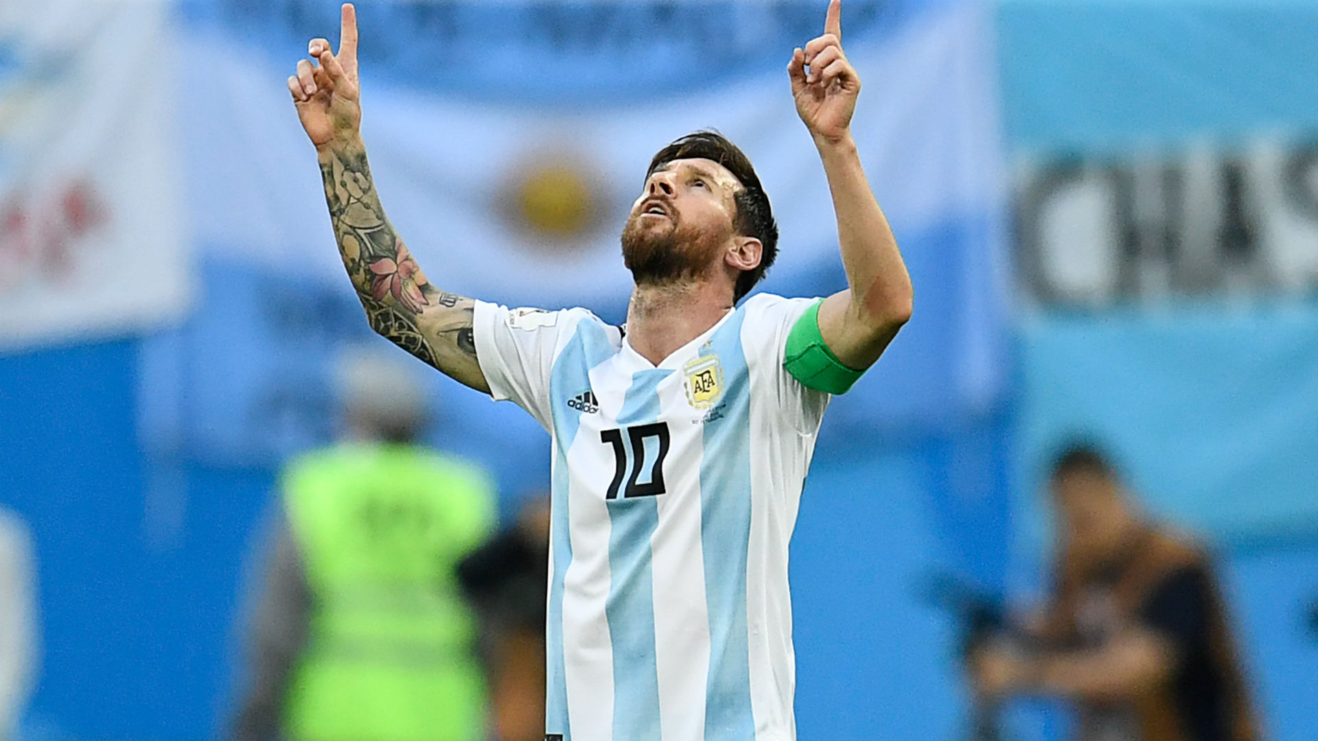 Messi shocks World Cup journalist with ribbon sent to him by reporter's mother