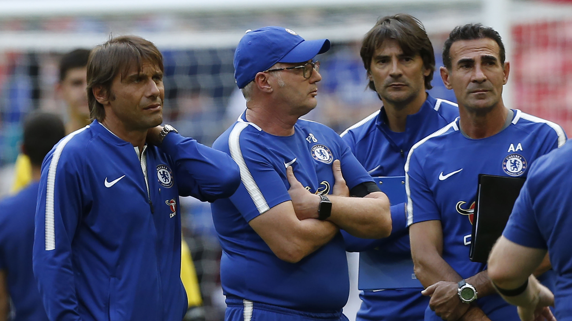 Antonio Conte frustrated as Chelsea launches title defense in EPL