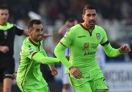 Crotone-Cagliari: c'è Sau, out Borriello