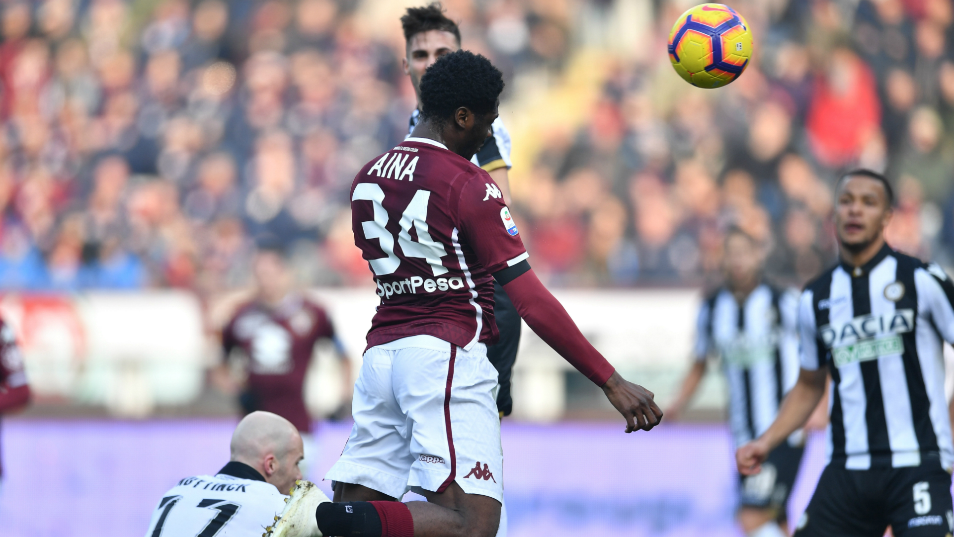 Ola Aina: Torino's 100% Serie A start ends with Lecce defeat