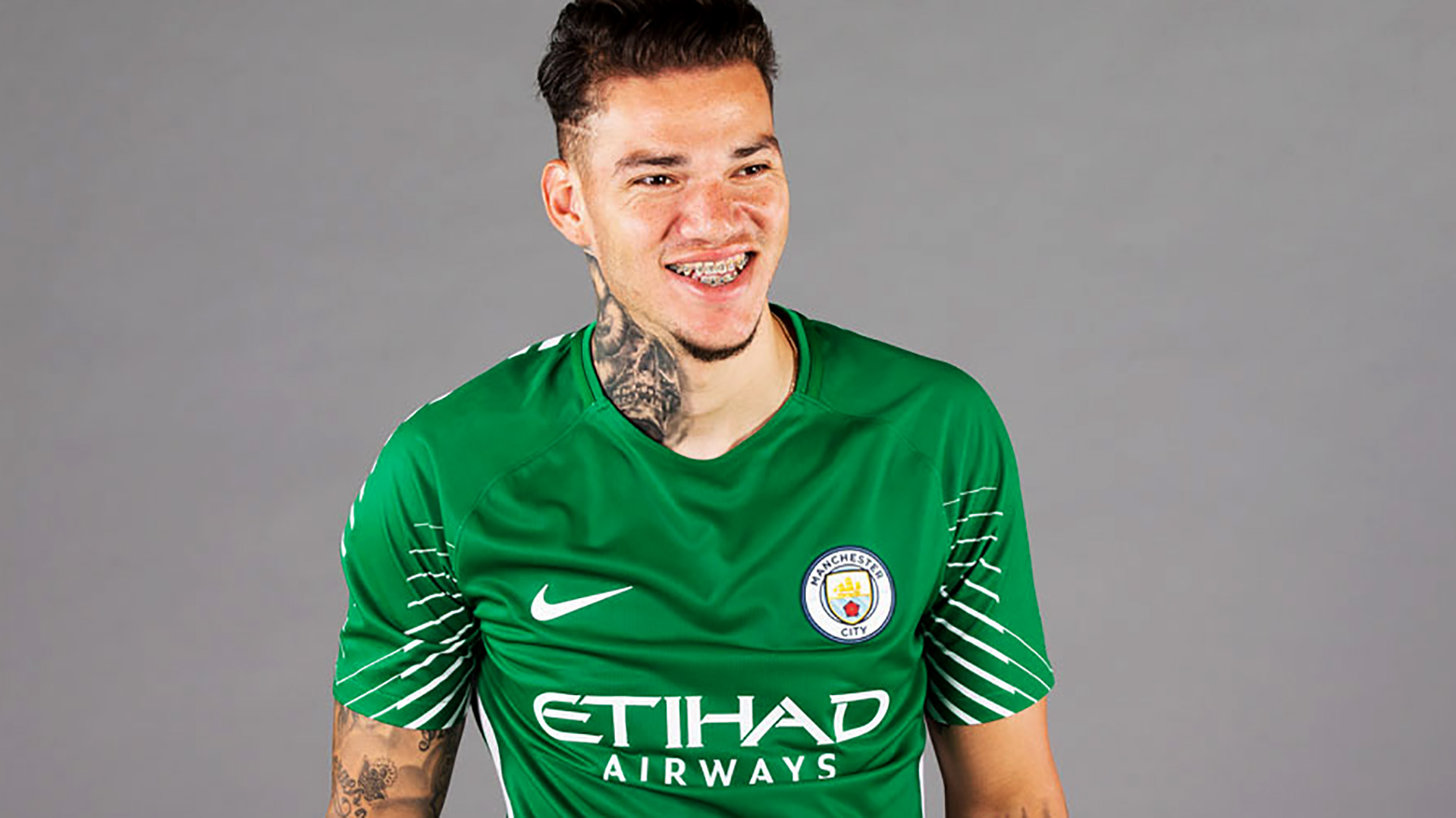 Ederson Manchester City signing 09062017