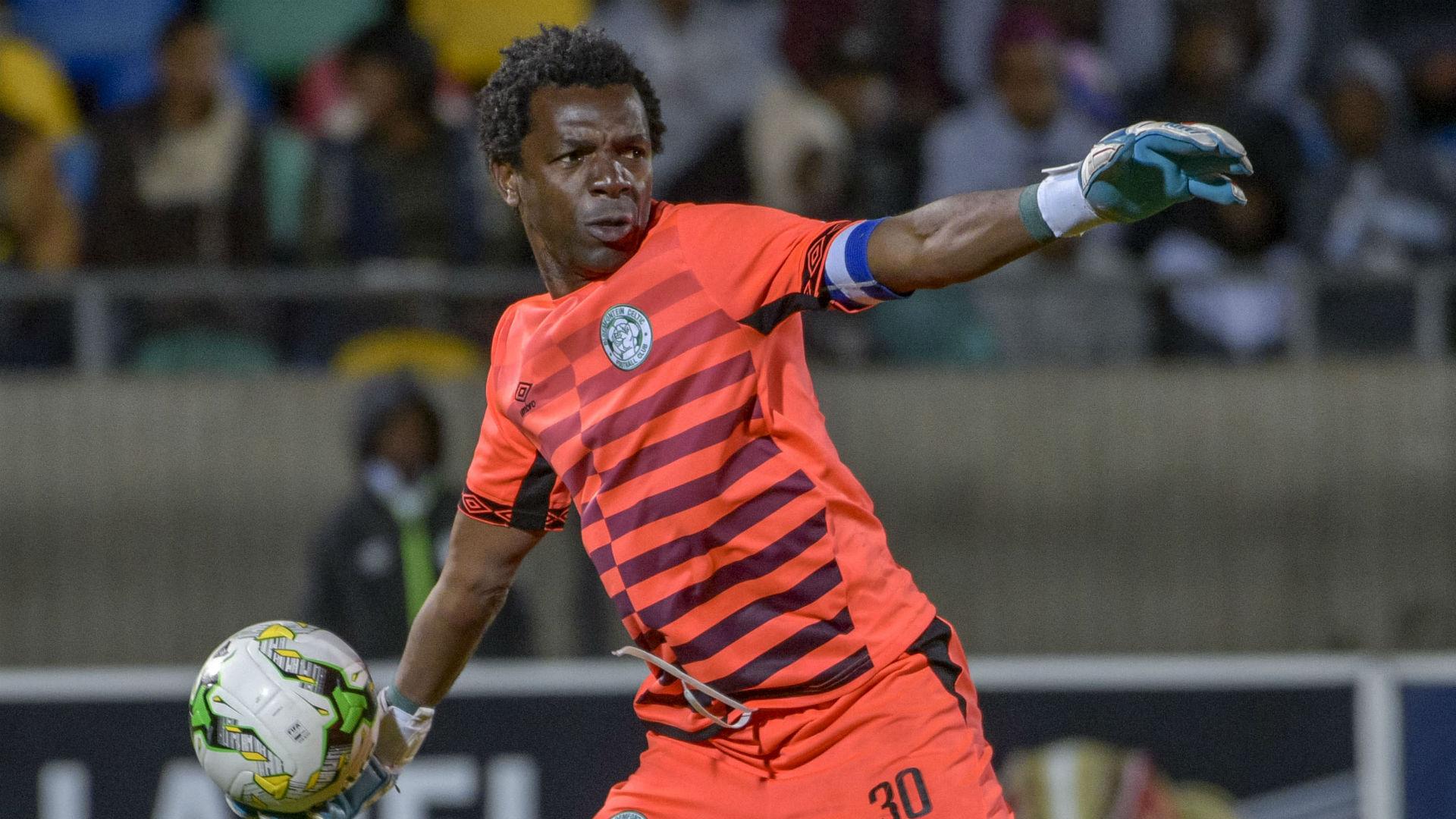 Chippa United sign Bloemfontein Celtic goalkeeper Patrick Tignyemb