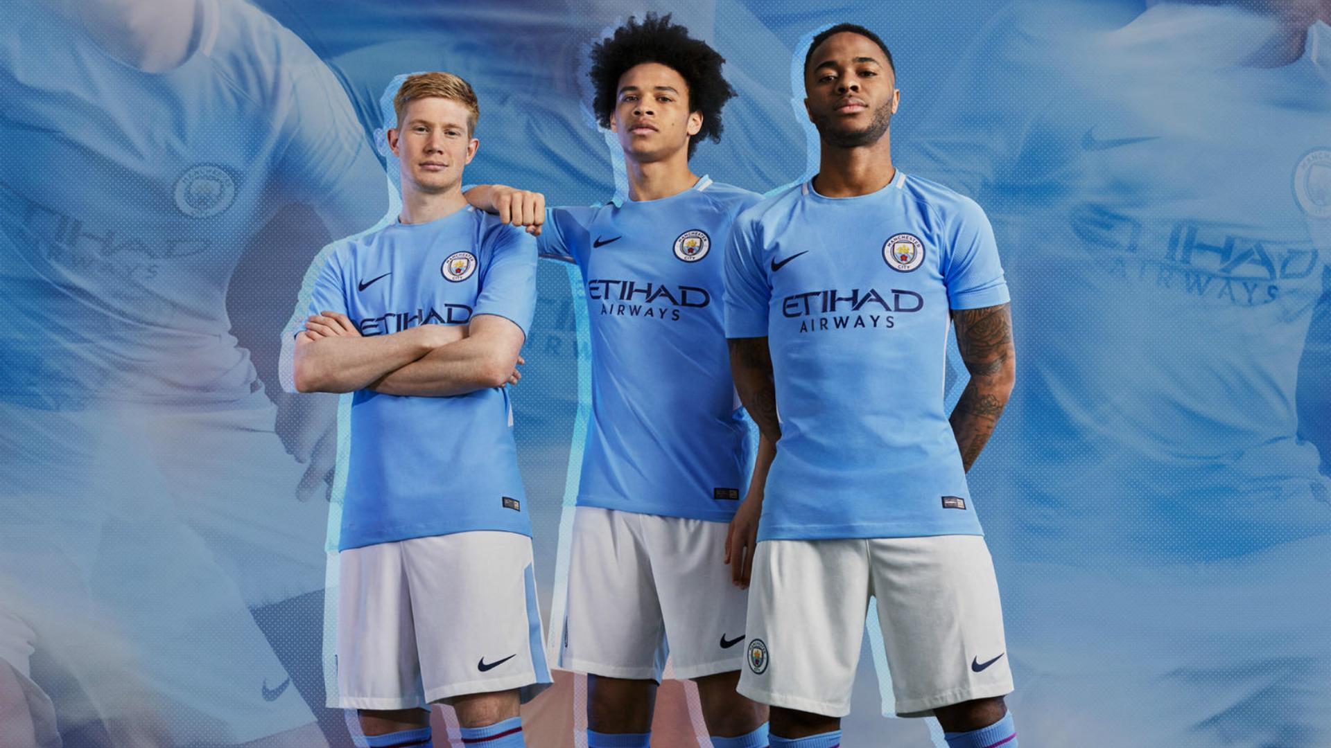 Manchester City New Home Kit 2017-18