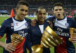 Neymar blinkt nu uit bij Paris Saint-Germain en doet dat met wat Braziliaanse landgenoten. Welke enclaves zijn en waren er nog meer?
