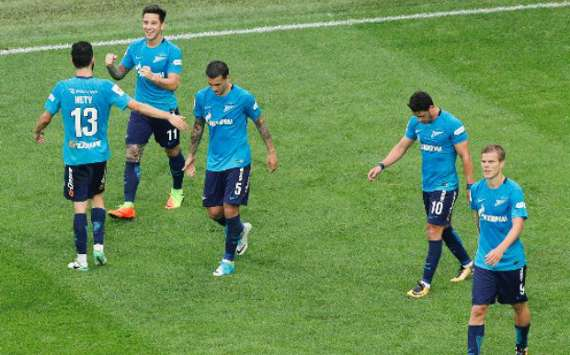 Driussi hizo festejar a Zenit