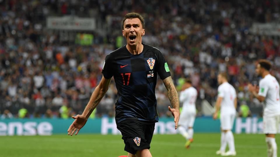 Mario Mandzukic Croatia England 11072018