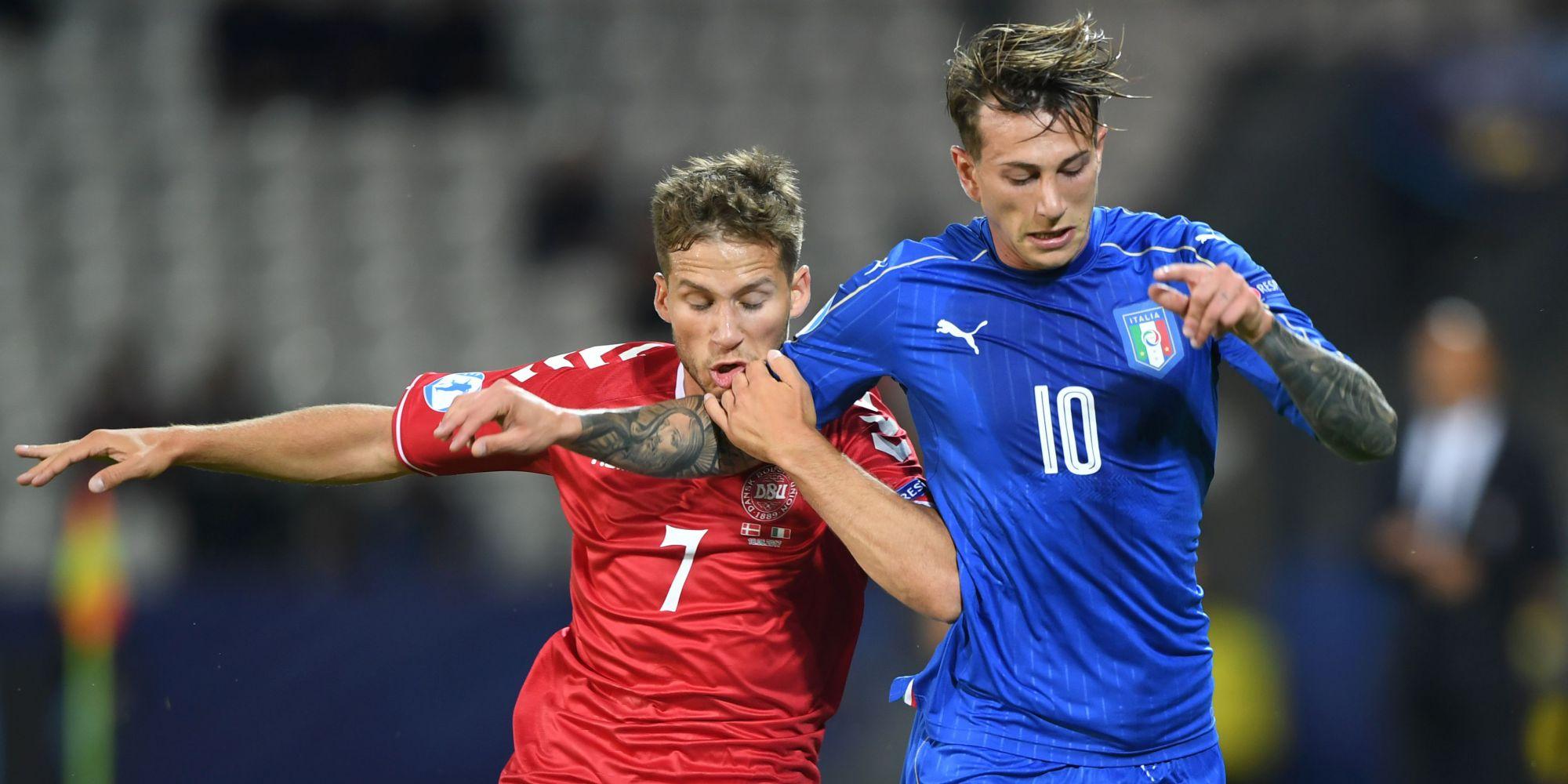 Federico Bernardeschi Denmark Italy UEFA U21 Championship