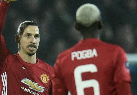 Ibra jokes with Pogba after cup win