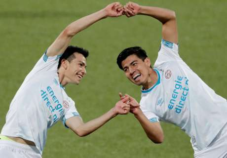 Lozano, Guti get Mexican party going early with PSV