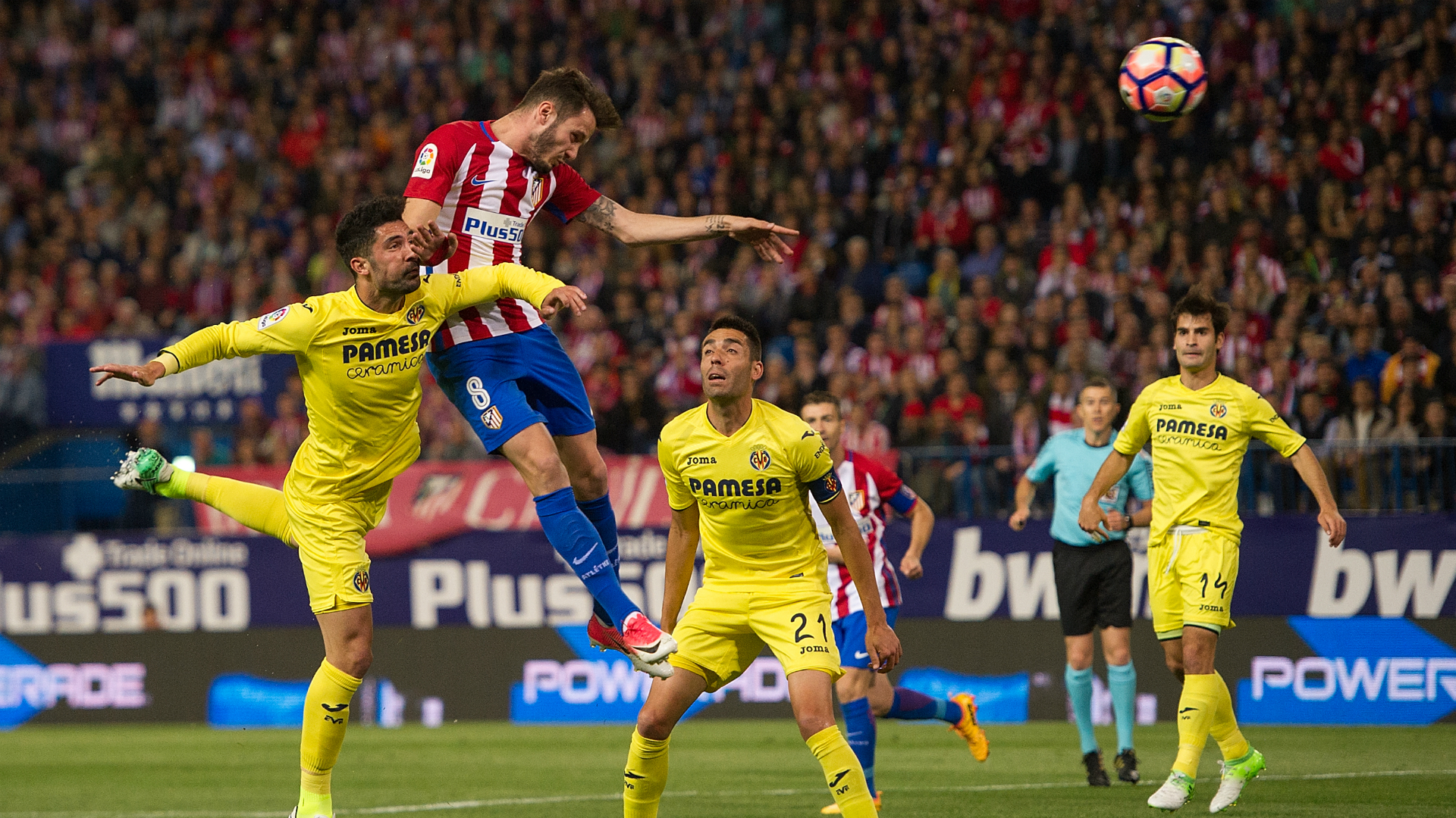 Saul Niguez Atletico Madrid Villarreal La Liga