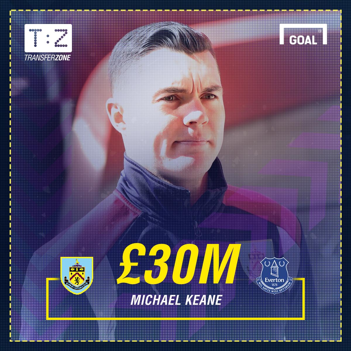 Michael Keane Everton GFX