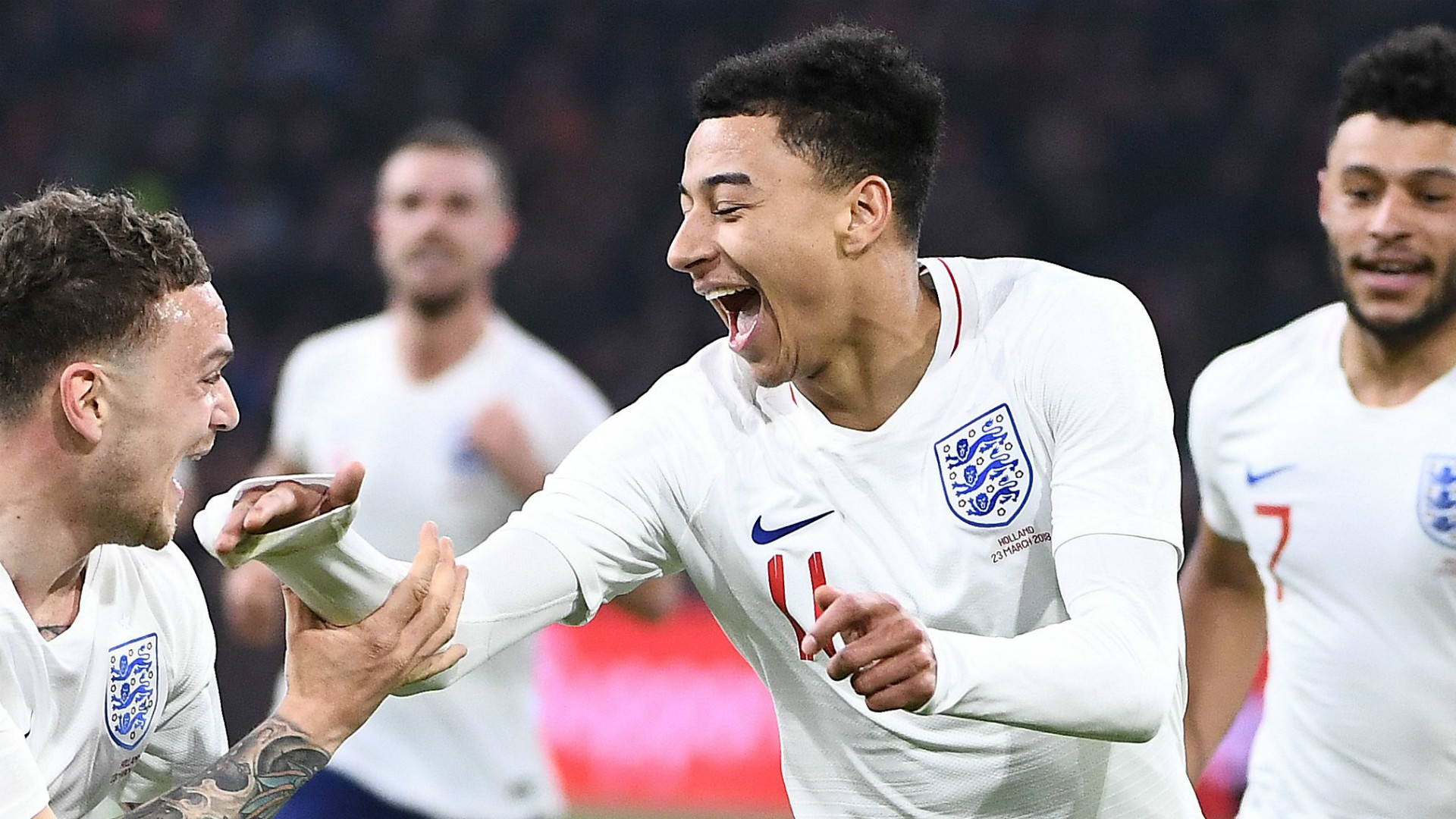 Lingard Feels 'more Comfortable' With England Than Man Utd