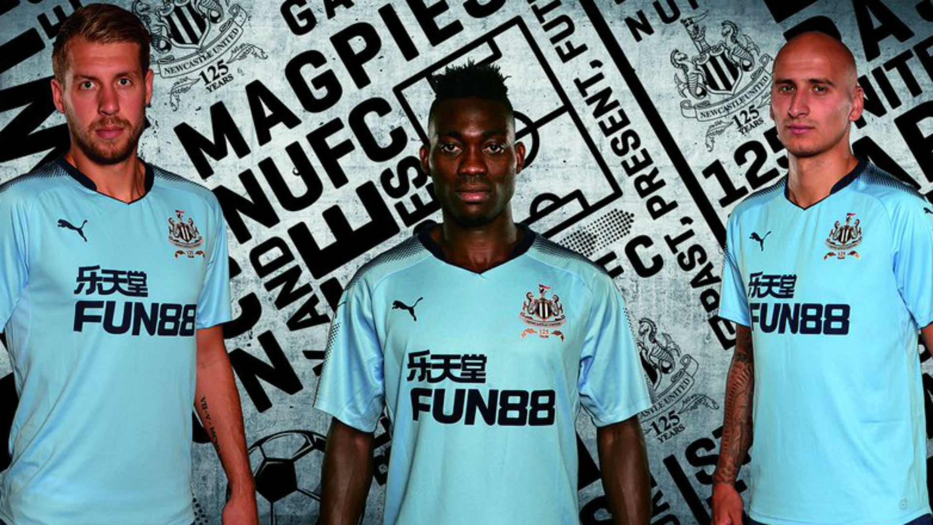 Newcastle United away 17-18