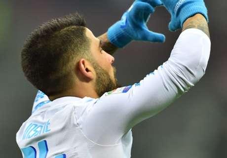 Callejon fires Napoli past Milan